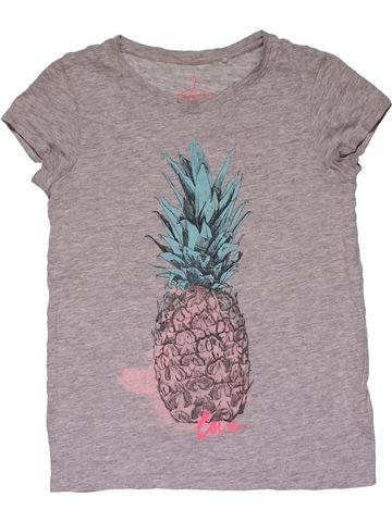 Short sleeve T-shirt girl NEXT purple 9 years summer #31077_1