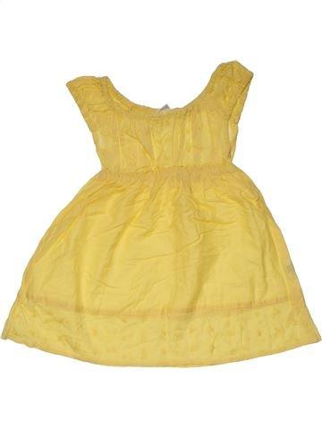 Dress girl NO BRAND yellow 18 months summer #31110_1