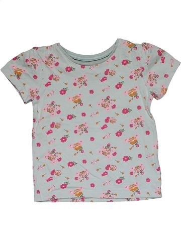 Short sleeve T-shirt girl MATALAN gray 3 years summer #31186_1