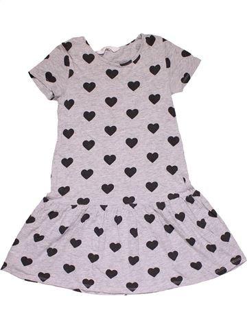 Dress girl H&M white 8 years summer #31194_1