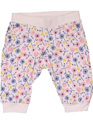 Trouser girl MARKS & SPENCER white 3 months summer #31209_1