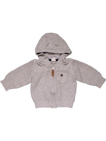 Sweatshirt boy H&M gray 6 months winter #31236_1