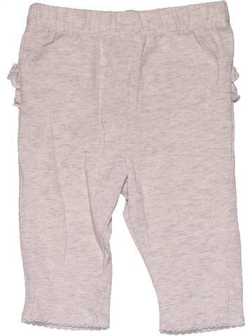 Trouser girl GEORGE pink 3 months summer #31258_1