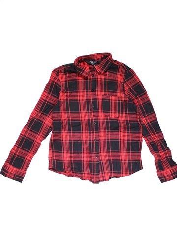 Long sleeve blouse girl NEW LOOK brown 13 years winter #31362_1