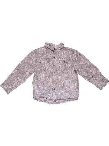 Long sleeve shirt boy NOTTING HILL HERITAGE gray 6 years summer #31469_1