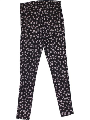 Trouser girl H&M dark blue 12 years summer #31671_1