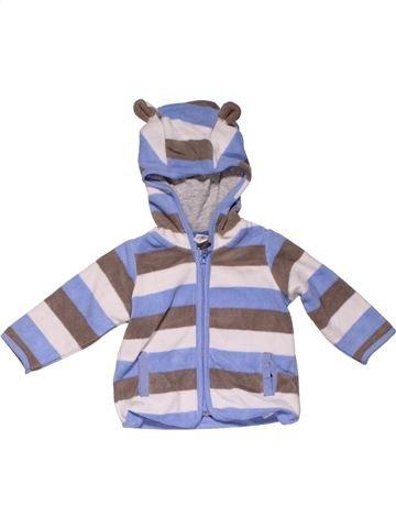 Sweatshirt boy H&M purple 6 months winter #31676_1