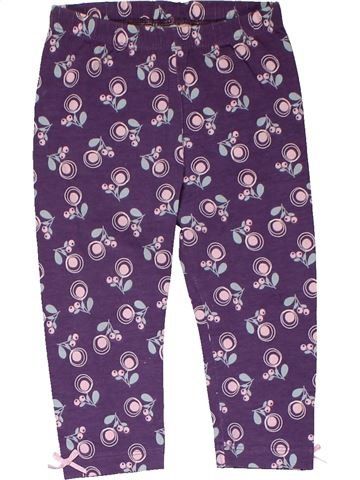 Leggings girl NUTMEG purple 12 months summer #31747_1