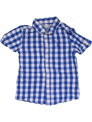 Short sleeve shirt boy NEXT blue 18 months summer #31771_1