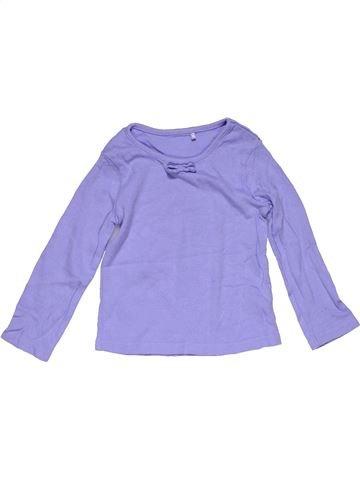 Long sleeve T-shirt girl GEORGE blue 18 months winter #31803_1