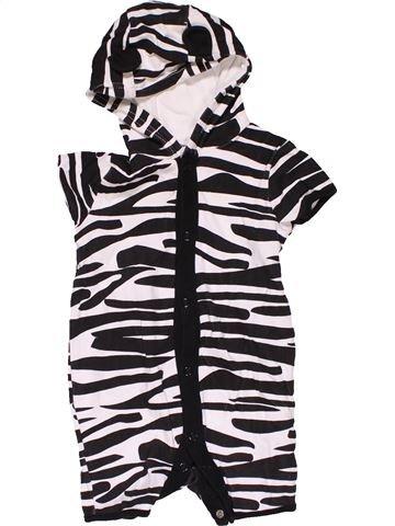 Short jumpsuit boy NO BRAND black 6 months summer #31813_1