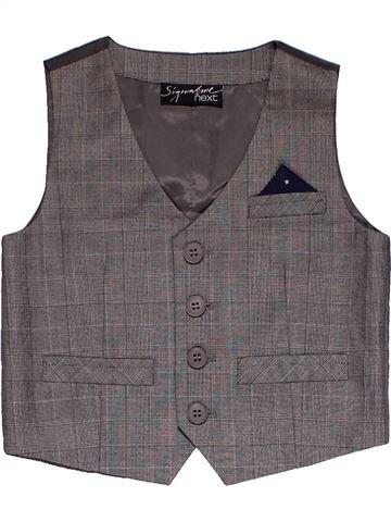 Vest boy NEXT gray 12 months summer #31835_1