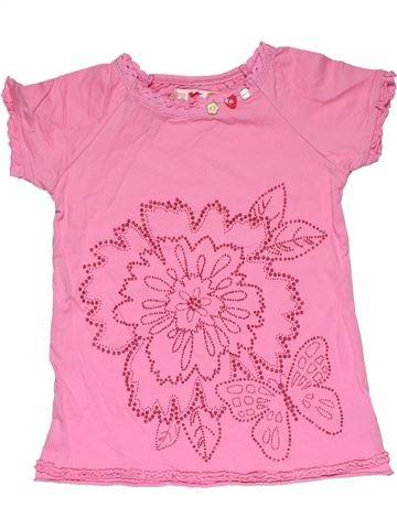 Short sleeve T-shirt girl MARKS & SPENCER pink 6 years summer #31838_1