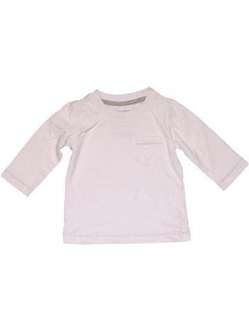 Long sleeve T-shirt boy NEXT white 9 months winter #31839_1