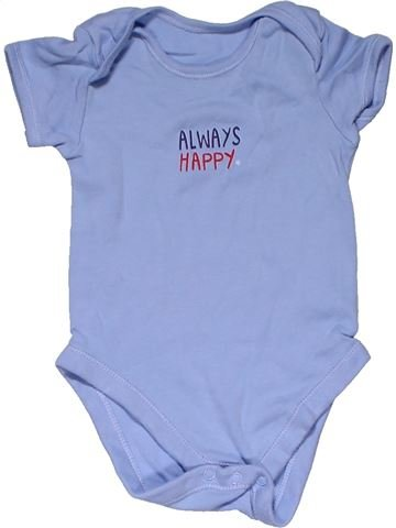 Short jumpsuit boy GEORGE blue 12 months summer #31844_1