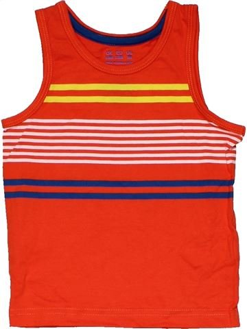 Sleeveless T-shirt boy F&F red 18 months summer #31847_1