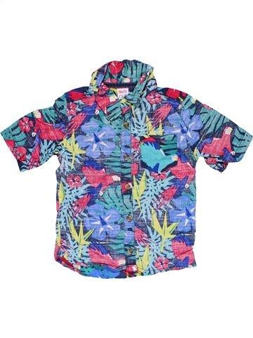 Short sleeve shirt boy MINI CLUB blue 3 years summer #31917_1