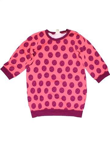 Sweatshirt girl ALANA pink 8 years winter #31920_1