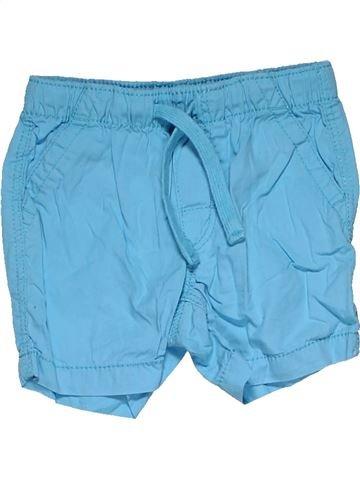 Short pants boy H&M blue 6 months summer #31981_1