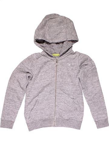 Sweatshirt girl TU gray 7 years winter #32016_1