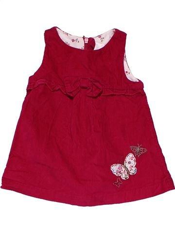 Dress girl BABY CLUB red 3 months summer #32039_1