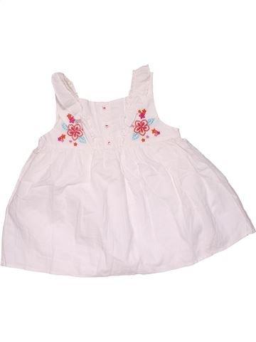 Dress girl MOTHERCARE white 5 years summer #32295_1