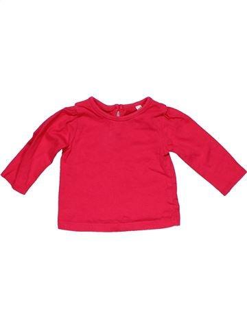 Long sleeve T-shirt girl BHS red 3 months winter #32303_1
