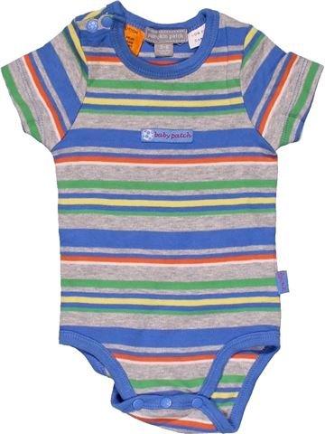 Short jumpsuit boy PUMPKIN PATCH gray 6 months summer #32370_1