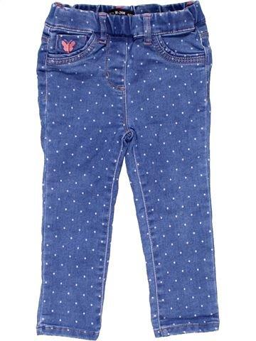Jeans girl DENIM CO blue 2 years winter #3336_1