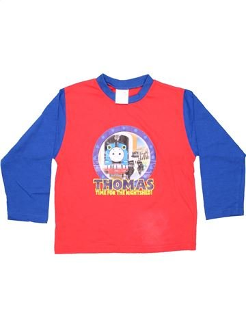 Long sleeve T-shirt boy AUTHENTIC pink 6 years winter #3444_1