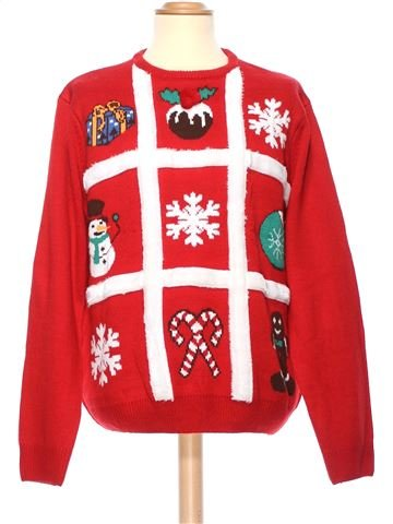 Man Xmas jumper man CEDAR WOOD STATE XXL winter #36337_1