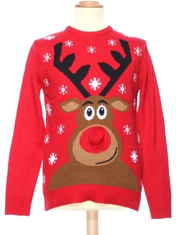 Man Xmas jumper man CEDAR WOOD STATE XS winter #36576_1