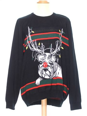 Man Xmas jumper man RIVER ISLAND XL winter #36609_1