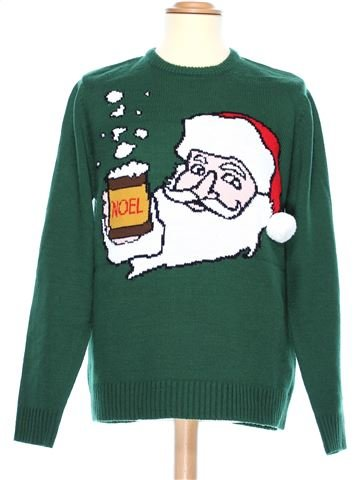 Man Xmas jumper man CEDAR WOOD STATE L winter #36956_1