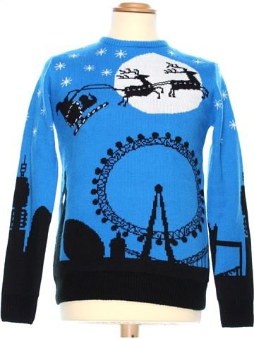 Man Xmas jumper man CEDAR WOOD STATE XS winter #36992_1