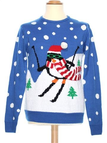 Man Xmas jumper man CEDAR WOOD STATE M winter #38092_1