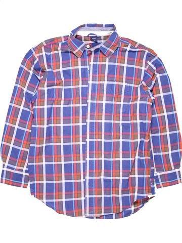 Long sleeve shirt boy GAP gray 11 years summer #393_1