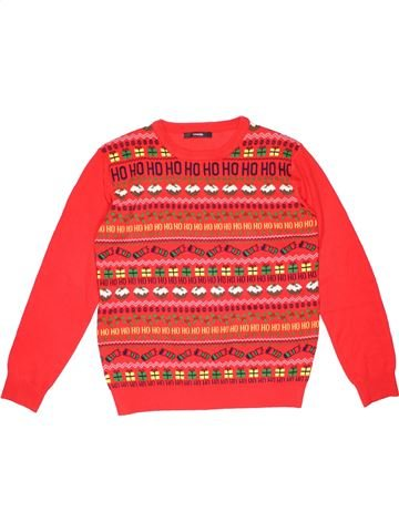 Jumper boy GEORGE red 12 years winter #41588_1