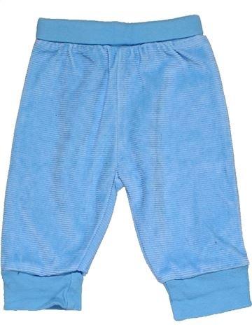 Trouser unisex NEWBORN blue 1 month winter #4227_1