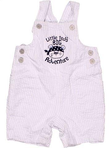 Dungaree unisex BABY white 12 months summer #4412_1