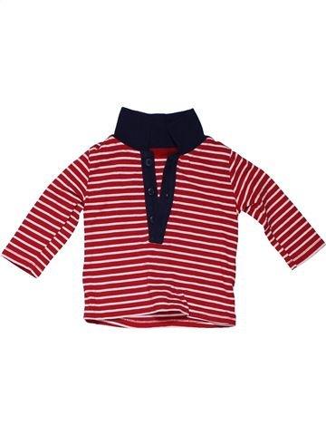 Long sleeve polo shirt boy GEORGE purple 3 months winter #46_1