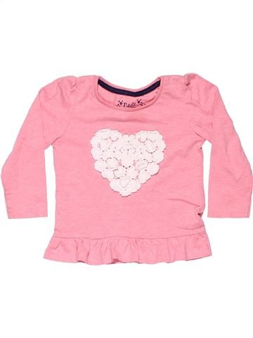 Long sleeve T-shirt girl YOUNG DIMENSION pink 2 years summer #5472_1