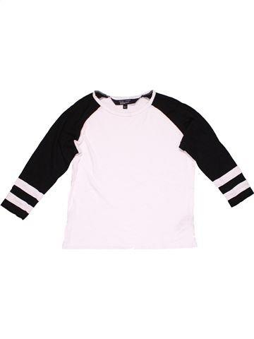 Long sleeve T-shirt boy NEW LOOK white 11 years winter #5953_1