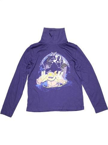 Turtleneck T-shirt boy NICKELODEON blue 10 years winter #6060_1