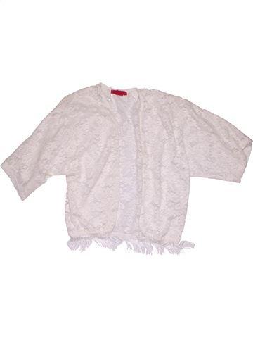 Tunic girl YD white 10 years summer #6063_1