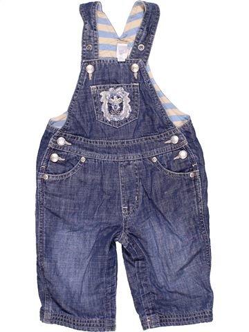 Dungaree unisex BABY GAP blue 6 months summer #6066_1