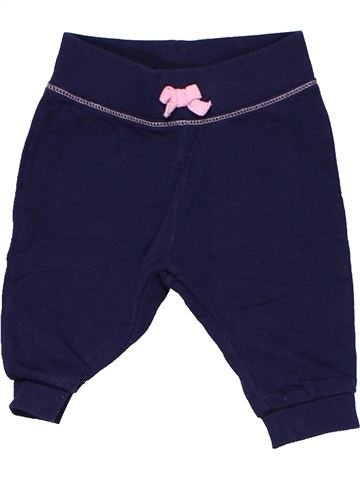Trouser girl BABY CLUB blue 3 months winter #6215_1