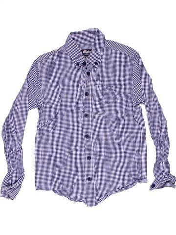 Long sleeve shirt boy REBEL gray 8 years summer #6506_1
