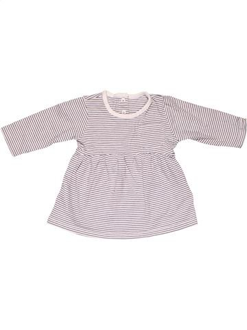Dress girl M&S white 3 months winter #6675_1