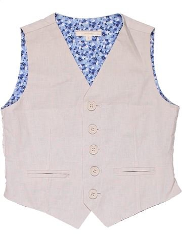 Vest boy JOHN LEWIS white 5 years summer #7075_1